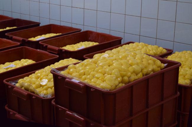 Loupané brambory